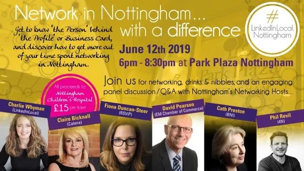 LinkedIn Local Nottingham Event June 12th 2019