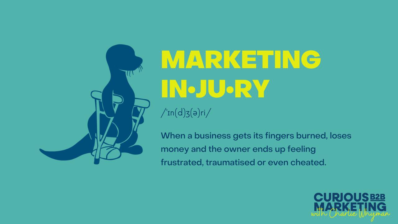 Avoid Marketing Injuries